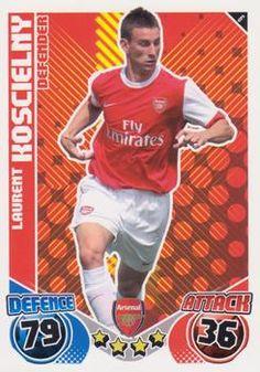 2010-11 Topps Premier League Match Attax #6 Laurent Koscielny Front