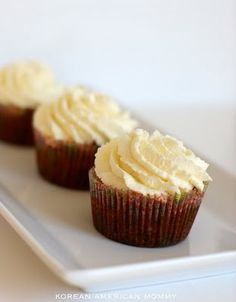 butternut squash cupcakes with mascarpone frosting