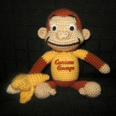 You have to see Curious George w/Banana on Craftsy!