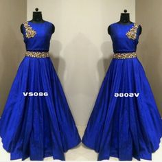 Checkout this tapeta silk hand worked lehenga choli  Product Info : Tafeta silk semi stitch Lengha up to waist size 40 Length 42 Flair 4.5 Handwork border on waist Stitching style same as pic Blouse unstitched fabric raw silk with handwork embroidery 1 meter Color - royal blue color Dupatta - 2.25 meter soft nett with sequin with gotta border (blue color) Colors can be changed Delivery time - 7 days  Price : 4000 INR Only ! #Booknow  CASH ON DELIVERY Available In India ! World Wide Shipping…