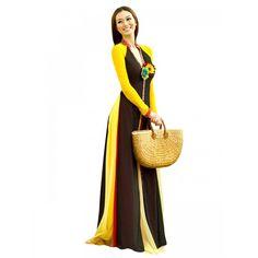 Designer Georgette Brown Anarkali Salwar Suit - EBSFSK317012B