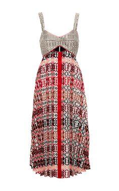 Printed Madeline Dress by MISHA NONOO for Preorder on Moda Operandi