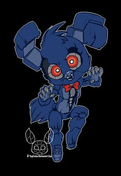 Ok I have seen a lot of cut Bons but I think this ones the best Nightmare Bonnie yet