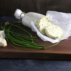 Blue Cheese and Chive Compound Butter