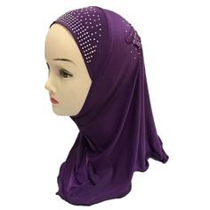 Girls Kids Muslim Hijab Islamic Arab Scarf Shawls Water Soluble Decals     Continue to the product at the image link. a04b6c8c953a