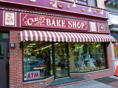 Carlos Bakery - Hoboken, NJ.  Buddy Valastro is one of my idols in my life because he is a phenomenal baker, and he holds his family very close.  I actually went to Carlos Bakery a couple years ago, and it was scrumptious! I hope one day to open my very own bakery like Carlos Bakery and do all the old traditional techniques that so many bakers now neglect.
