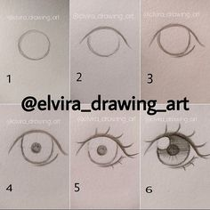 This is very easy for beginners, I also started drawing eyes like this