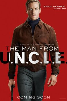 Henry Cavill and Armie Hammer come together for the upcoming Guy Ritchie directed film The Man from U. Cavill plays CIA agent Napoleon Solo and Hammer… Man From Uncle Movie, The Man From Uncle, Guy Ritchie, Armie Hammer, Xavier Dolan, 2015 Movies, Good Movies, Sherlock Holmes, Movie Posters