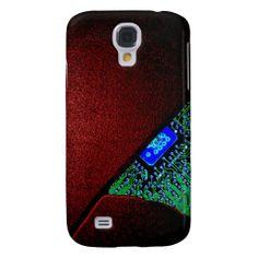 Broken Tech - Red Case Samsung Galaxy S4 Covers
