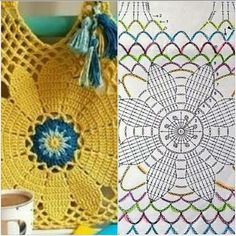 """The location where building and construction meets style, beaded crochet is the act of using beads to decorate crocheted products. """"Crochet"""" is derived fro Crochet Clutch, Crochet Handbags, Crochet Purses, Bead Crochet, Crochet Doilies, Crochet Flowers, Crochet Stitches, Crochet Patterns, Hippie Crochet"""