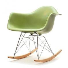 design4life Houpací křeslo MERLOTE Zelené