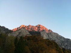 Traunstein Alpenglühen Grand Canyon, Nature, Travel, Alps, Hiking, Stones, Naturaleza, Viajes, Destinations