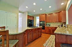 The perfect kitchen!  And a fabulous pantry!