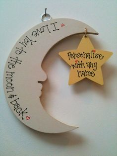 Handmade Wooden/MDF plaque by bloominfab on Etsy, £10.00 or www.bloominfab.co.uk