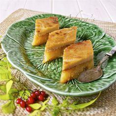 sweet corn and cassava rice cake (bibinkga)
