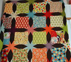 Chocolate Stars quilt from Moda Bake Shop.