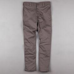 Dickies 803 Slim Skinny Work Trousers - Gravel Grey