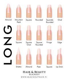 12 Trendy Looking Nail Shapes For This Fall And Winter Nail Nails Acrylic Nail Shapes Nail Art