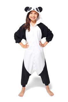Kids Panda Kigurumi Onesie