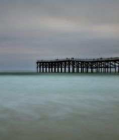 Long exposure at the Crystal Pier while I was day-dreaming.