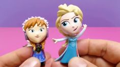 Play Doh Surprise Eggs with Elsa, Anna, Olaf & Kristoff
