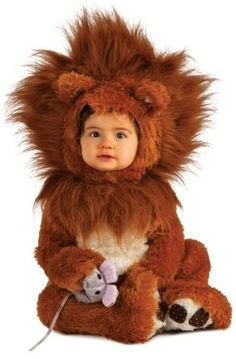 Roar! Your lil one will stay nice and warm while trick-or-treating in this adorable lion cub romper ($32) Halloween costume.