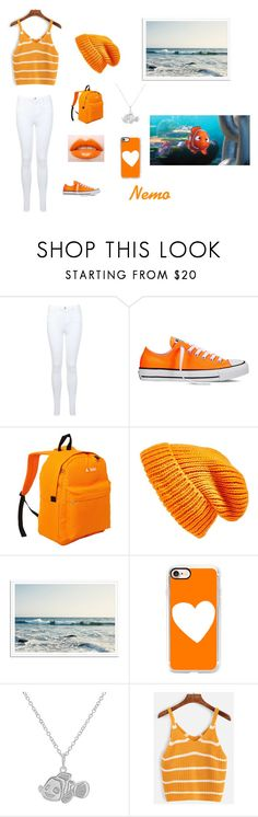 """""""Costume #1"""" by brenbean-awesome ❤ liked on Polyvore featuring Miss Selfridge, Converse, Everest, Topshop, Casetify and Disney"""
