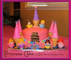Princess Castle Cake from Starrstown