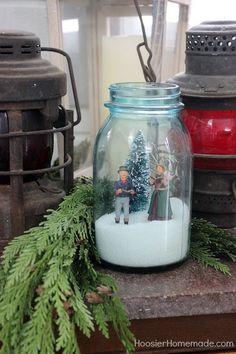 FARMHOUSE CHRISTMAS DECOR -- She Shed Outdoor Christmas Decorations