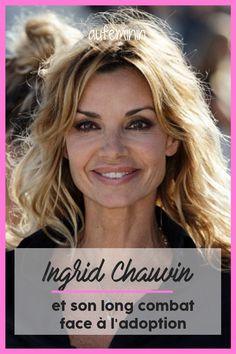 """""""Frustrant"""" et """"désespérant"""" : Ingrid Chauvin évoque son combat face à l'adoption. /// #aufeminin #ingridchauvin #actrice #demainnousappartient #serie #bebe #maman #enfant #adoption #interview #combat"""