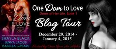 Emotions run high as these three discover that the road to hell is paved with good intentions. One Dom To Love by Shayla Black, Jenna Jacob, & Isabella LaPearl: Review and #Giveaway