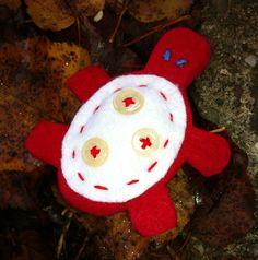 tartaruga rossa e bianca