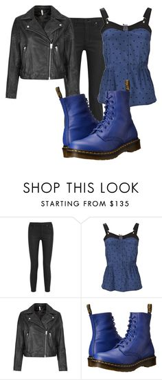 """""""Untitled #9610"""" by xxxlovexx ❤ liked on Polyvore featuring Madewell, Vena Cava, Topshop and Dr. Martens"""