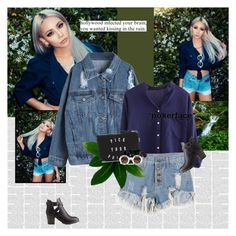 """""""08.14"""" by blackjacklove21 ❤ liked on Polyvore featuring Vans, Bobbi Brown Cosmetics, Dermablend, Wildfox, Charlotte Russe, Denimondenim and cl"""