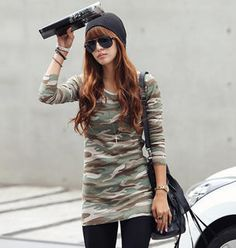 REDOPIN  Camouflage T-Shirt