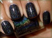 H701 Black Glitter Gal 3D Holographic Nail Polish is on its way to my collection!