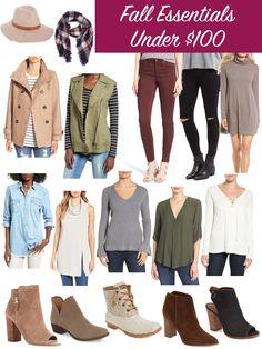 Nordstrom Fall Essentials under $100, Fall Wardrobe, Fall Fashion , Nordstrom Fall Sale