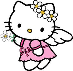 free hello kitty clip art pictures and images hello kitty rh pinterest com kitten clip art images free kitten clip art free
