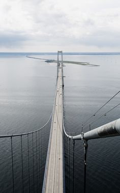 The Great Belt Bridge (The East Bridge), Denmark
