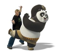 Kung Fu Panda tells the story of Po, a giant panda, who's chosen to fulfill a prophecy and study kung fu. Go inside Kung Fu Panda. Kung Fu Panda 3, Novel Characters, Cartoon Characters, Universal Studios, Rihanna, Black Hat Seo, Happy Birthday Today, Entertaining Movies, Pencil Test