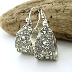 Hey, I found this really awesome Etsy listing at https://www.etsy.com/listing/207643249/modern-sterling-silver-hoop-earrings