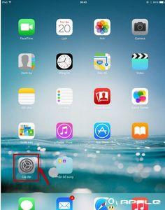 Lý do iPad Pro không reset được