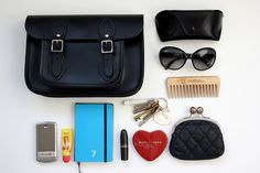 what's in my bag by Georgina Swan, via Flickr What's In My Purse, Whats In Your Purse, What In My Bag, What's In Your Bag, My Bags, Purses And Bags, Inside My Bag, Purse Essentials, Organizing