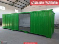 SC CONTAINER - Saiba mais sobre Container Escritório   Acesse: www.sccontainer.com.br