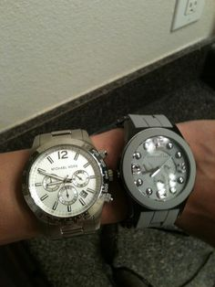 Micheal Kors and Marc Jacobs watch