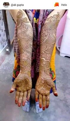 Wedding Henna Designs, Khafif Mehndi Design, Indian Henna Designs, Latest Bridal Mehndi Designs, Full Hand Mehndi Designs, Stylish Mehndi Designs, Mehndi Designs 2018, Mehndi Designs For Girls, Mehndi Design Pictures