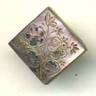 Antique Mother of Pearl Button