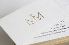 Michelle Miller Interiors is a Baltimore based Interior design firm who sought o. Showroom Interior Design, Interior Design Software, Graffiti Lettering, Lettering Design, M Design Logo, Typography, M Monogram, Monogram Wedding, Logo Inspiration