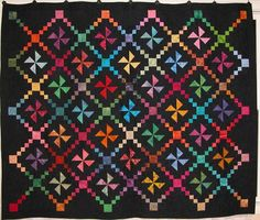 I love Amish quilts - the beauty of rich colors on a black background thefocusedlens