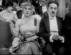 Edna Purviance and Charlie Edna Purviance, Charles Chaplin, My Prince Charming, Actors, Couple Photos, Couples, Silver, Couple Shots, Couple Photography